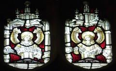 Bury St Edmunds - St Mary's Church. (Glass Angel) Tags: angels stmaryschurch burystedmunds stainedglasswindows claytonandbell