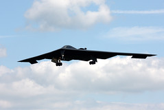 82-1069 Northrop B-2A Spirit, United States Air Force, RAF Fairford, Gloucestershire, England (Kev Slade Too) Tags: spirit b2 usaf northrop raffairford spiritofindiana egva 393rdbs 821069 invisibleraiders