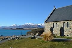 L'église du berger, à Lac Tekapo