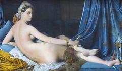 Grand Odalisque by Jean Auguste Dominique Ingres, Louvre museum (carpingdiem) Tags: paris museum painting louvre ingres