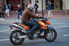 (seua_yai) Tags: sanfrancisco california street people urban usa america downtown candid wheels thecity motorbike bayarea motorcycle northamerica