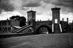 Ponte Pallotta Trepponti, Comacchio, Ferrara, Emilia Romagna (william eos) Tags: monumenti comacchio trepponti deltadelpò pontepallotta williamprandi