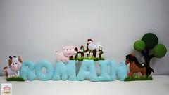 ♥♥♥ Uma fazendinha para o Romain... (sweetfelt \ ideias em feltro) Tags: sign handmade farm feitoàmão felt feltro quinta ferme fazenda feutrine placadeporta namebanner plaquedeporte