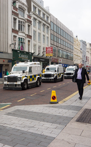 Security Operation - Queen Elizabeth and Prince Philip visited Belfast on June 24th.