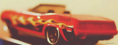 Plymouth car 1970 (ChandrahaasCreation) Tags: lighting camera old city light red color colour classic colors beauty look car wheel contrast digital dark lens lights design cool model colorful day different shine close bright plymouth cannon 1970 lovely dslr decorate barracuda