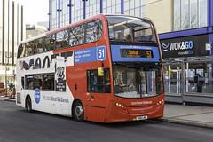 17022013-328 (mjones78) Tags: bus birmingham transport vehicle alexander dennis nx 4857 newm skyfall enviro400 nationalexpresswestmidlands bx61lmo 51service upperbullstreet nxwe