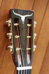 "Martin CS 0-18 ""Longhorn Cattle Skull"" (Del~Uks) Tags: nikon martin guitar sigma acoustic 018 mahogany appleaperture customshop engelmann d800e colorefexpro4 longhorncattleskull 50mmf14dghsmart waverlyguitartuners"