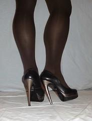 7 (Mandy Buffalo) Tags: black high buffalo highheels plateau heels