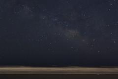 Stargazing (jessieflori) Tags: ocean sunset sky beach nature night way stars coast big heaven waves skies earth awesome east nighttime milky constellations starry astrology dipper stargazing vast nighttim