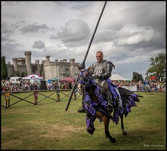 A KNIGHTS CHARGE.... (bevscwelsh) Tags: knight northwales joustingtournament bodelwyddancastle olympus1250 olympusem5