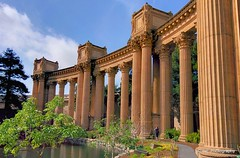 Corinthian columns at the Palace of Fine Art (elnina999) Tags: sanfrancisco california street city bridge homes sky urban panorama usa sunlight building tower water skyline architecture modern america skyscraper bay town colorful downtown cityscape view pacific suspension farmersmarket district famous hill relaxing scenic cable landmark panoramic aerial goldengatebridge twinpeaks area highrise vista ferrybuilding historical fishermanswharf metropolis alcatraz height attraction russianhill lombardstreet urbanscene traveldestinations downtowndistrict trabsamericabuilding