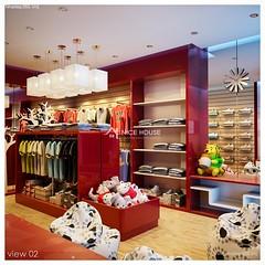 Nội thất cửa hàng Kid Shop_2