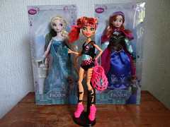 Doll Hunting #19 (JoackoTiz) Tags: monster ana frozen high elsa toralei