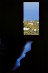 the ocean inside (Adalberto Tiburzi) Tags: sea window landscape capri waves pulalli