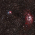 The Lagoon Nebula (M8) and Trifid Nebula (M20) thumbnail