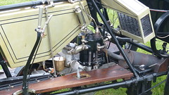 Reg: A 261, 1904 Rover 4h.p. Tricycle Engine (bertie's world) Tags: sunbeam pioneer run epsom downs 2017 reg a261 1904 rover 4hp tricycle