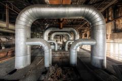 The gate (Michal Seidl) Tags: abandoned heating plant opuštěná teplárna factory továrna industry hdr urbex czech