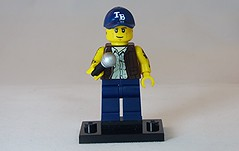 Tattooed Rapper Brick Yourself Custom Lego Figure