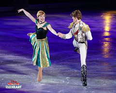 Princess Anna & Prince Hans - Love is an open door (DDB Photography) Tags: disney disneyonice ice waltdisney disneyphoto disneypictures disneycharacters followyourheart mickey mickeymouse minnie minniemouse mouse feldentertainment donaldduck duck goofy figure skate figureskate show iceshow prince princess princesses castle animation disneymovie movie animatedmovie fairytale story anna elsa elsathesnowqueen olaf kristoff sven hans princehans arendelle frozen loveisanopendoor letitgo