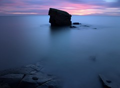 Pastel Charley (craigdwilkinson) Tags: charleysgarden collywellbay seatonsluice northumberland le longexposure seascape rockstack hoyand1000