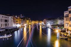 Venise (yvan642) Tags: lights water river lake travel cityscapephotography venise photographiedenuit nightphotography canon1740 canon7dmarkii poselongue longueexposure italie landscape night venezia