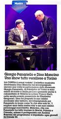 Dino Dino Mancino Giorgio Panariello (dinomancino263) Tags: giorgio dino mancino panariello torino la nazione redazione evento notizia giornale cronaca