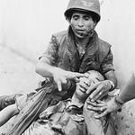 05 May 1968, Saigon, Vietnam --- General Nguyen Ngoc Loan injured during the Saigon battle thumbnail