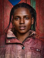 Saware Girl (Rod Waddington) Tags: africa african afrika afrique äthiopien ethiopia ethiopian ethnic etiopia ethnicity ethiopie etiopian saware wollaita wolayta tribe traditional tribal portrait people girl female
