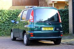 2001 Toyota Yaris Verso 1.3 VAN (Dirk A.) Tags: sidecode6 grijskenteken onk 73vvfx 2001 toyota yaris verso 13 van