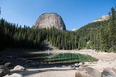 Mirror Lake with Big Beehive - Banff (m01229) Tags: lakelouise alberta canada ca