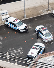 NYPD Police Patrol Cars, The Bronx, New York City (jag9889) Tags: 2017 20170412 al aerialview allamericacity americanleague ballpark baseball baseballteam bombers bronx cop finest firstresponder lawenforcement majorleaguebaseball ny nyyankees nyc nypd nyy newyankeestadium newyork newyorkcity newyorkcitypolicedepartment newyorkyankees officer outdoor pinstripes police policedepartment policeofficer policepatrolcar southbronx stadium thebronx thebronxbombers theyanks usa unitedstates unitedstatesofamerica vehicle yankeestadium yankeestadiumiii yankees jag9889