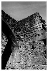 Ancienne abbaye de Limbourg - Bad Dürkheim (DavidB1977) Tags: allemagne deutschland rheinlandpfalz rhénaniepalatinat baddürkheim limbourg abbaye nikon d610 ais nikkor 35mm bw nb monochrome