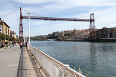 Bizkaio Zubia Steel Bridge (twomphotos) Tags: spain espana spanien bilbao baskenland basque biskaia biskaya bizkaio zubia bridge