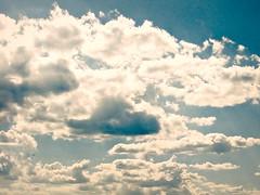 Cloudy (Deejay Bafaroy) Tags: clouds wolken sky himmel blue blau white weiss cloudy wolkig bewölkt