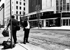_0024350 (G. L. Brown) Tags: businessmen hotel lctower streetcorner nashville nashvillestreetphotography streetphotography tennessee america blackandwhite bw
