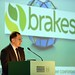 Alan Waite, Brakes speaking at the IHF conference