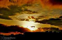 Overthere someone waiting me (giorgiabruno) Tags: sun sunset scenary panorama amazing world siluette pic picture art nature naturelle simple simplicity beauty interesting emotions orange yellow sky city shadows horizon line hearth there myself nikon photography photo