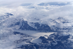 Up over Northern Canada_7370 (Mike Head - Jetwashphotos) Tags: snow ice clouds harsh northerncanada arctic