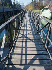 LOR630 Villette Pedestrian Bridge over the Lorze River, Cham, Canton of Zug, Switzerland (jag9889) Tags: wood bridge cantonzug lorze beambridge cham footbridge river 20170317 europe switzerland 2017 6330 bach balkenbrücke bridges bruecke brücke ch cantonofzug crossing fluss fussgängerbrücke gkz676 helvetia infrastructure kantonzug outdoor pedestrianbridge pont ponte puente punt reuss reusstributary schweiz span structure suisse suiza suizra svizzera swiss waterway zg zug jag9889