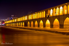 _MG_4890 (aminshahnazari) Tags: isfahan esfahan bridge night 6d 70200 long exposure zayandeh rood river si o se pol 33 iran safavi amin shahnazari اصفهان زاینده رود ایران عکاسی شب سی و سه پل امین شاه نظری