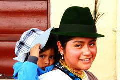 The Look (7) (Mahmoud R Maheri) Tags: people ecuador quito motherandchild etnic woman child street