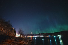 reflections and light (ztsmith2) Tags: aurora beauty northern lights puremichigan michigan houghton keweenaw night cold spring solar storm vsco friends mtu tech univeristy 6kp lvl
