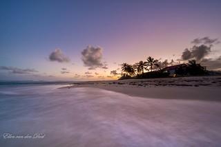 Sunset at paradise