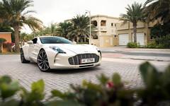 69/77. (Alex Penfold) Tags: aston martin one77 white supercars supercar super car cars autos alex penfold dubai 2017