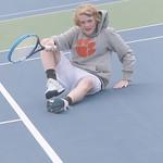 LHS Tennis, JV Men, v DFHS, 4-6-2017. LRJ