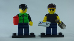 Brick Yourself Bespoke Custom Lego Figure Cheers Bro!