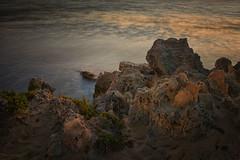 Sunset over Cottesloe Beach (Wajahat Mahmood) Tags: cottesloebeach rocks sunset longexposure nikond810 googlenik perth westernaustralia australia wa downunder beach ocean
