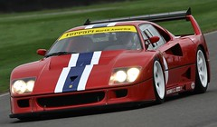 FERRARI F40 LM - GOODWOOD 75TH MEMBERS MEETING (PSParrot) Tags: ferrari f40 goodwood 75th members meeting