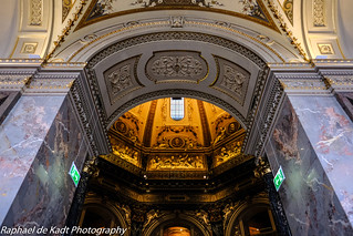The Domed Atrium Ceiling of the Kunsthistorisches Museum in Vienna