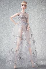 2017/003 Look 1 (NOVA FU) Tags: fashion royalty fr2 elise jolie fr nova doll flawless sliver gray lace embroidered fairy shine